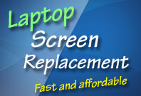Laptop repair in Gloucester - LCD LED screen replacement